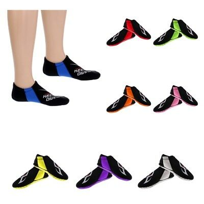 Unisex 3MM Neoprene Diving Socks SCUBA Snorkeling Swimming Fin Shoes XS S M L XL