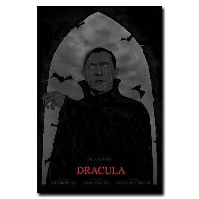 Dracula 12x18inch 1931 Classic Horror Movie Silk Poster Hot Wall Decoration
