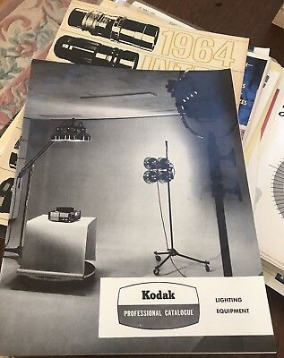 Vintage 60s Kodak Floodlight Spotlight Lighting Camera Advertising Catalogue