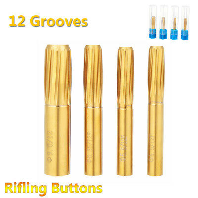 12 Grooves 5.5mm-9.0mm for Push Rifling Button Hard Alloy Chamber Reamer Rifled
