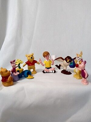 Disney Winnie The Pooh Figures Toys Cake Toppers Kids Party Favors 275