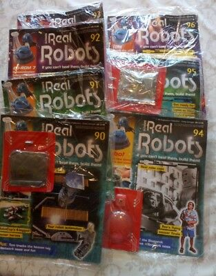 real robots bundle magazines issues 90-96 90,91,92,93,94,95 96