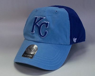 more photos a8cce f3990 Kansas City Royals 47 Brand Clean Up Flagstaff Hat Baseball Cap 2 Tone