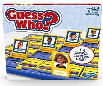 Hasbro Gaming Guess Who? Classic Game {Ages 6+ 2 Players} *BRAND NEW*