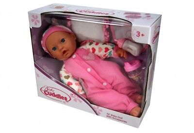 16 Inch Soft Bodied Open Eyed Baby Doll With Accessories [Ages 3+] *BRAND NEW*