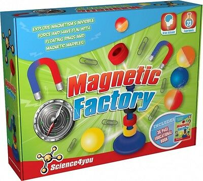 Science4you Magnetic Factory Science Kit [Ages 8+] Includes 36 Page Booklet
