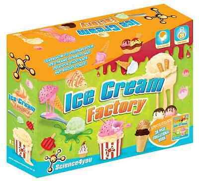 Science4you Ice Cream Factory Science Kit Ages 8+ Includes 36 Page Booklet