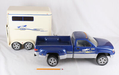 Large Breyer Pickup Truck and Horse Trailer