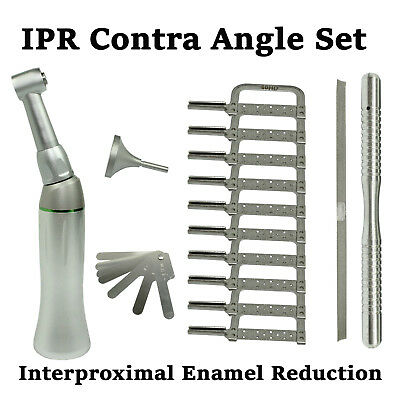 Dental IPR Interproximal Orthodontic Reduction Handpiece Contra Angle 4:1