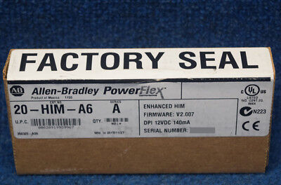 New Sealed Allen Bradley 20-HIM-A6  /A 20HIMA6 HIM Keypad PowerFlex 70 700 Huma