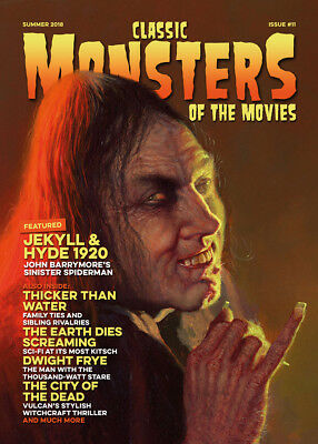 Classic Monsters Magazine Issue 11: Horror Film and Horror Movie Magazine