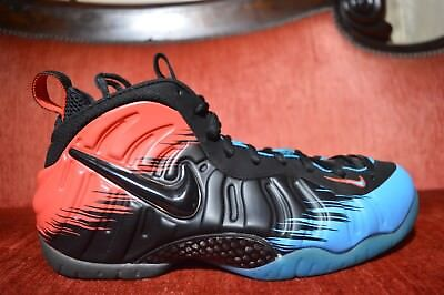 5a6d9e9a89fe CLEAN Nike Air Foamposite PRO PRM Spider Man 616750-400 Size 11 USA Blue Red
