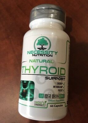 Thyroid Support Supplement Complex - Energy Metabolism Focus Natural Weig... New