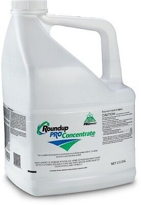 Roundup Pro Concentrate 2.5 Gals Glyphosate 50.2% Herbicide Weed & Brush Killer