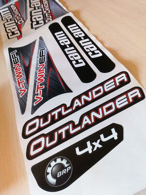 Bombardier G1 BRP can-am 650 outlander decals EMBLEM [461] 704900394