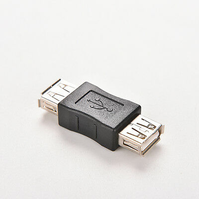 USB 2.0 Type A Female to Female Adapter Coupler Gender Changer Connector ATCA