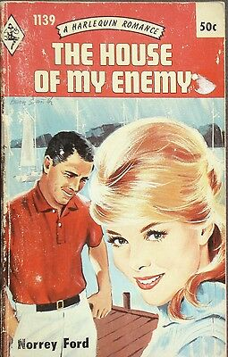 Vintage Harlequin Romance, 1139, The House Of My Enemy, Norrey Ford
