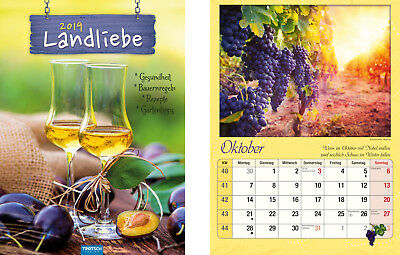 Calendar Picture Calendar Wall Calendar Calendar Country Love 2019 Recipes Tips