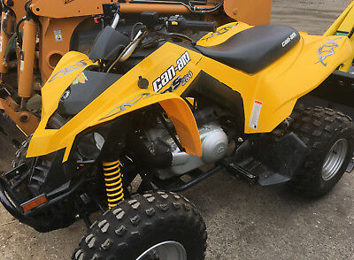 2008 Can-Am Atv Ds 250 Liquid Cooled Engine Cvt Electric Start Very Good Conditi