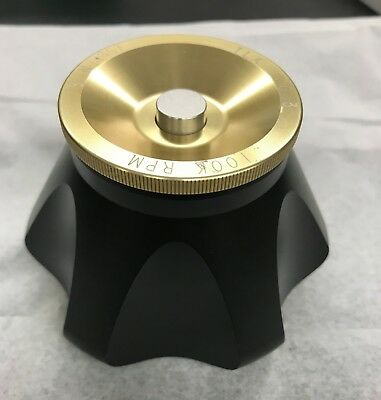Beckman Ultracentifuge Titanium Rotor, Model TLA-100.3, 6 x 3.5 ML, 100K RPM