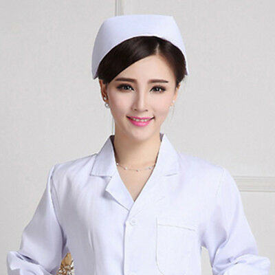 Cotton Medical Surgery Surgical Hat/Cap Doctor/nurse White/Pink