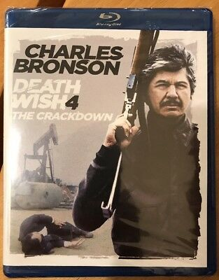 ***NEW*** Death Wish 4 The Crackdown (Blu Ray, DVD) *SEALED* Charles Bronson
