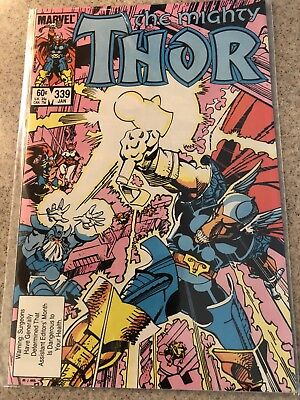 The Mighty Thor #339 - First Appearance Of Stormbreaker
