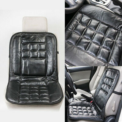 Car Vehicle Seat Luxury Genuine Leather Cushion Protector Interior Accessories