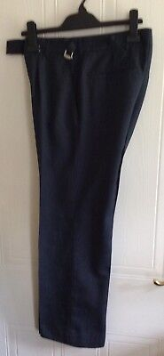 Men's Original RAF Trousers - Size 26/28 Waist - Overall Length Waist - Hem - 37