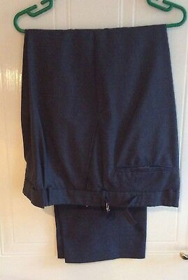 Men's Original RAF Trousers - Size 36/38 Waist - Overall Length Waist - Hem - 42