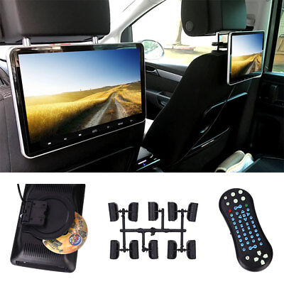 """10.1"""" HD LCD Car Auto Headrest Pillow Monitor Rear Seat Game Support TF Card"""
