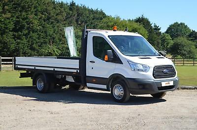 e24f00efe8 FORD TRANSIT 2.2 350 Extended Dropside DRW 1d 124 BHP - £12