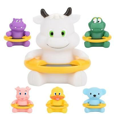 Baby Bath Thermometer LED Temperature Tester Display Floating Cute Animal Toy a