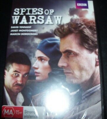 Spies Of Warsaw (David Tennant) (Australia Region 4) BBC DVD – New