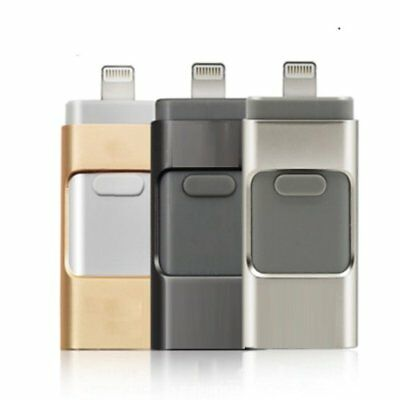 32/64/128/256GB USB Flash Drive OTG Disk Memory Stick For iPhone Android PC CU