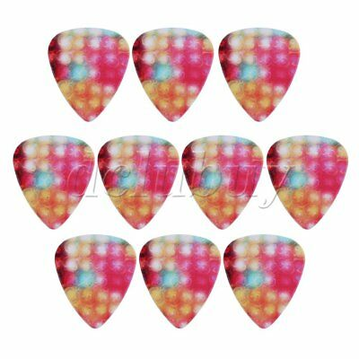 0.81mm Thickness Acoustic Stylish Colorful Guitar Picks Plectrums