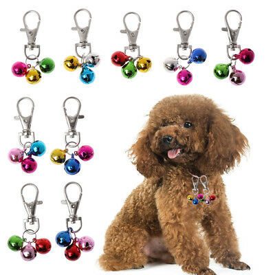 Pet Dog Cat Collar Bell DIY Accessories For Collar Loud Bell kitten Dogs Safety