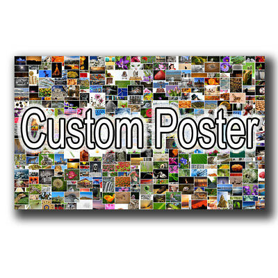 24x16 20x30 24x36inch CUSTOM Your Photo Image Silk Poster Art Print Wall Decals