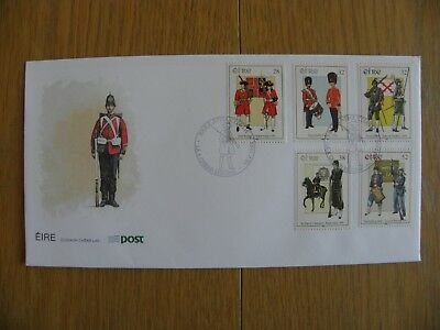 Ireland Eire - 1995 Military Uniforms First Day Cover FDC