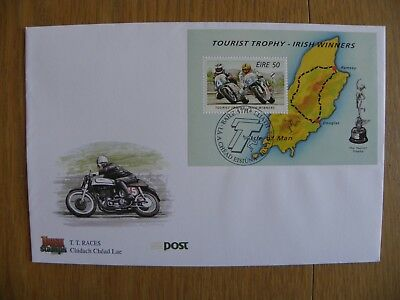 Ireland Eire - 1996 Irish Winners IOM TT Races First Day Cover FDC