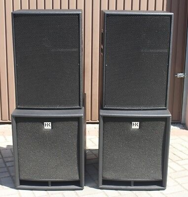 Dynacord CP 15-3 and HK Audio PRO 18