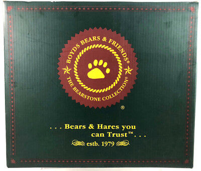 Boyds Bears Bearstone Collection NIB Wizard Of Oz Follow The Yellow Brick Road