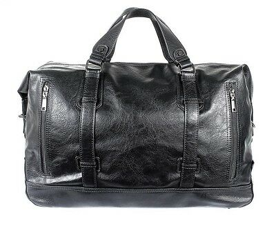 9ca5262d8b Small Business Men Pu Leather Travel Duffle Bag Coss Body Large Bag New  Travel