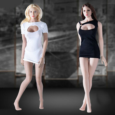 1/6 Clothes One-piece Dress for 12inch Phicen Cy Girls Female Figure Accessories