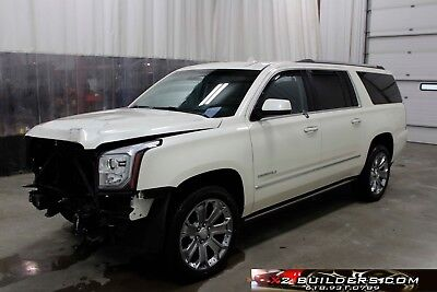 2015 GMC Yukon Denali 2015 GMC Yukon Denali, Salvage Title, Repairable, Rebuildable # 709625