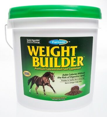 Weight Builder Premium Concentrate Feed Supplement, 8lb, 32 day