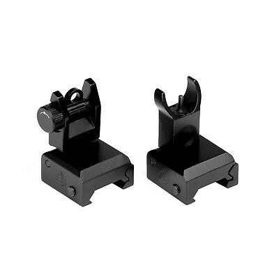 Trinity Force FS72 Flip Up Iron Tactical Sights Front and Rear Set