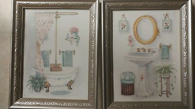 """Beautiful Bathroom Wall Hanging Home Decor Bed & Bath Pictures 7 1/4"""" x 9 1/4"""""""