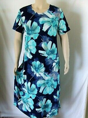 Travel-Knit Dress Short stretchy no-iron poly//span #182 Tank A-Line NEW
