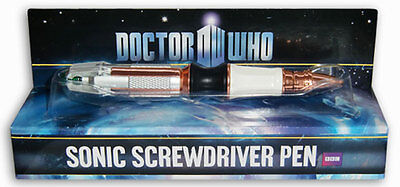 DOCTOR WHO - Sonic Screwdriver Ink Pen (Wow! Stuff) #NEW